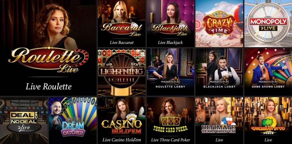 Hello Casino Live Casino Games