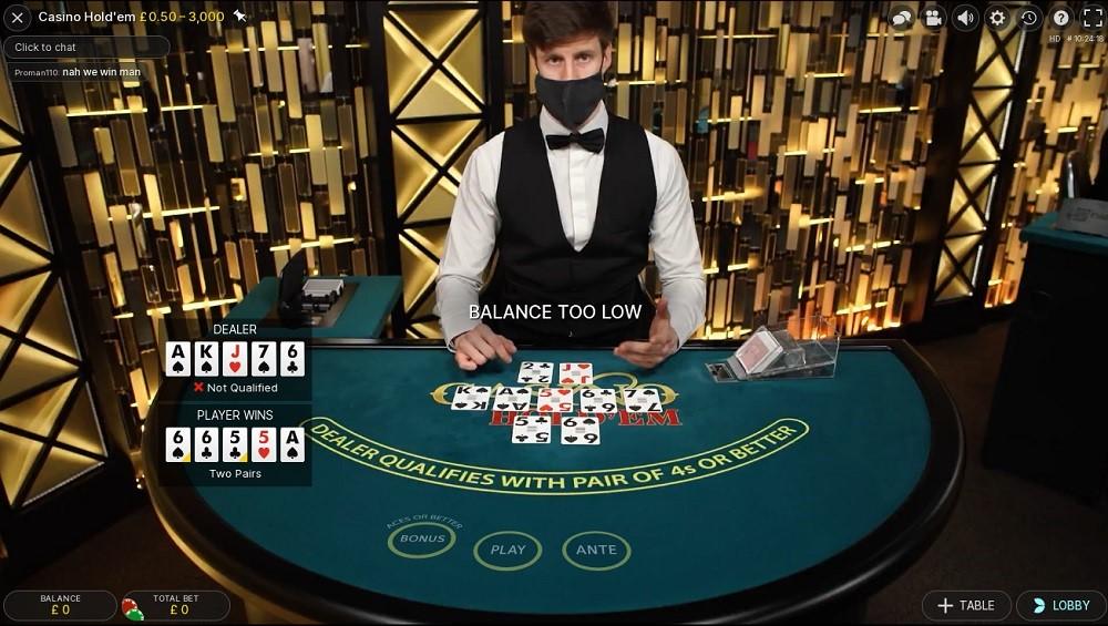 Hello Casino Live Poker