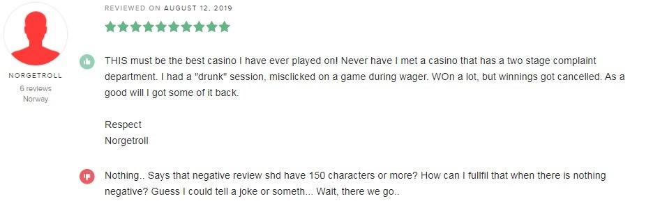 Hello Casino Player Review 5