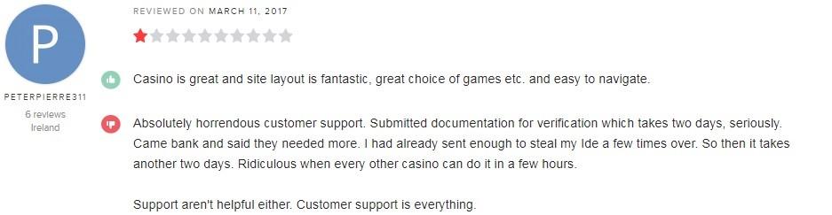 Hello Casino Player Review