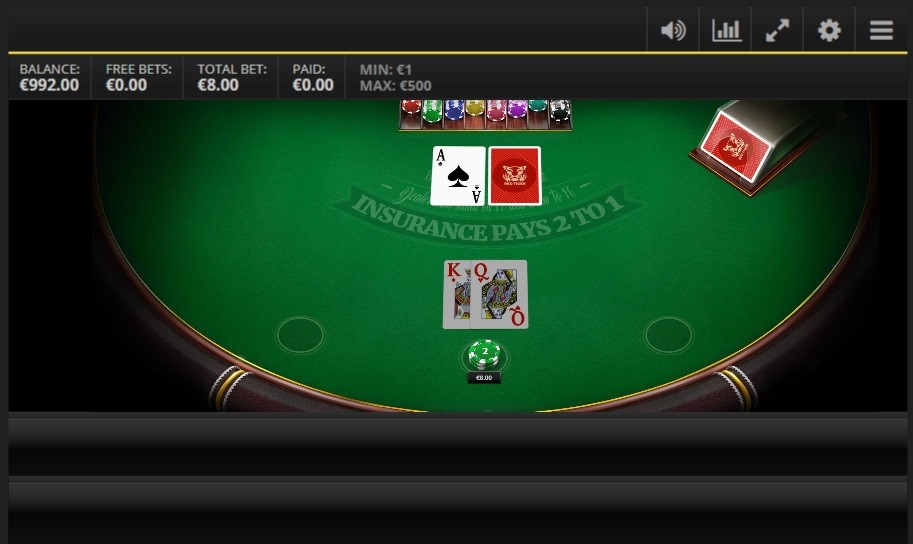 Intercasino Automated Blackjack