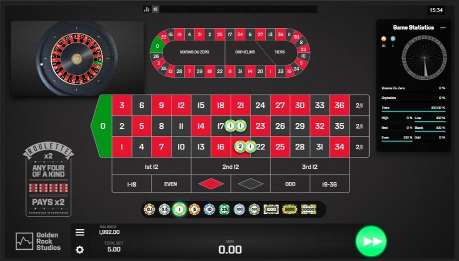 Intercasino Automated Roulette