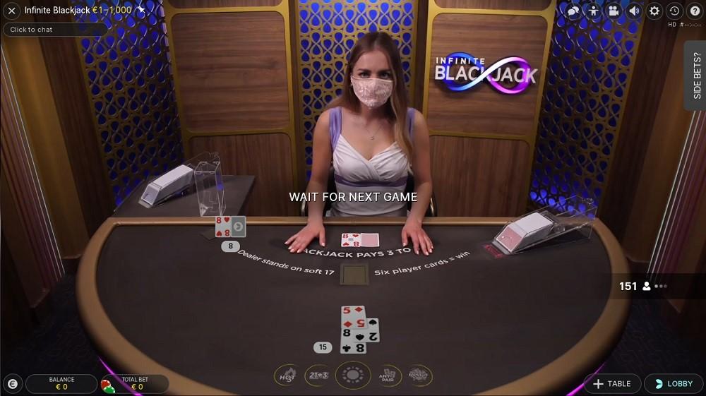 Intercasino Live Blackjack