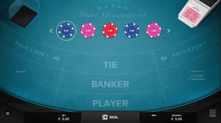 Machance Casino Automated Baccarat