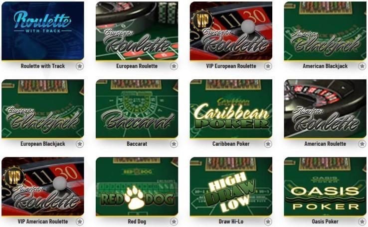 Machance Casino Automated Casino Table Games