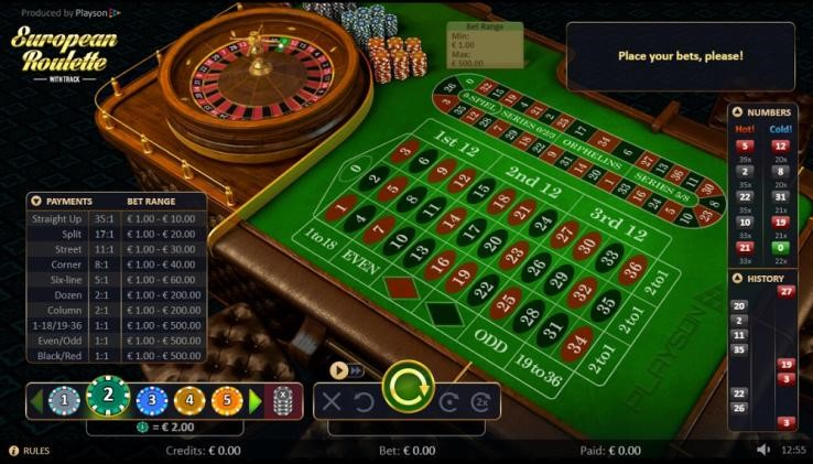 Machance Casino Automated Roulette