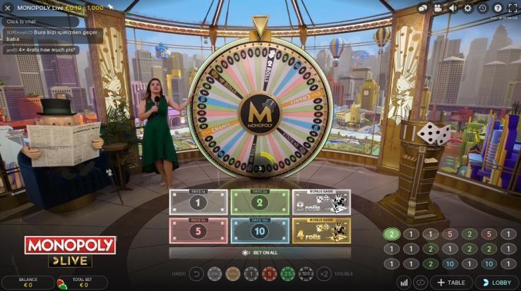 Machance Casino Live Game Show