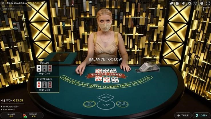 Machance Casino Live Poker
