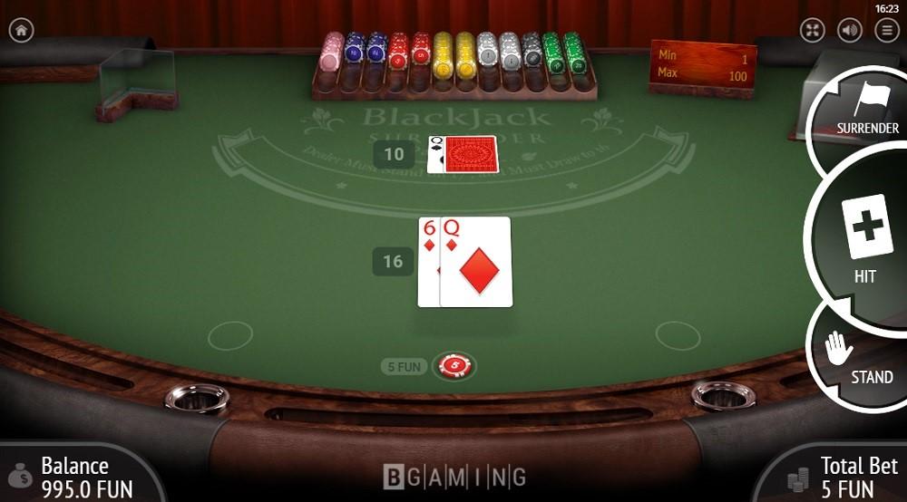 Malina Casino Automated Blackjack