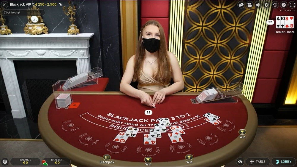 Malina Casino Live Blackjack
