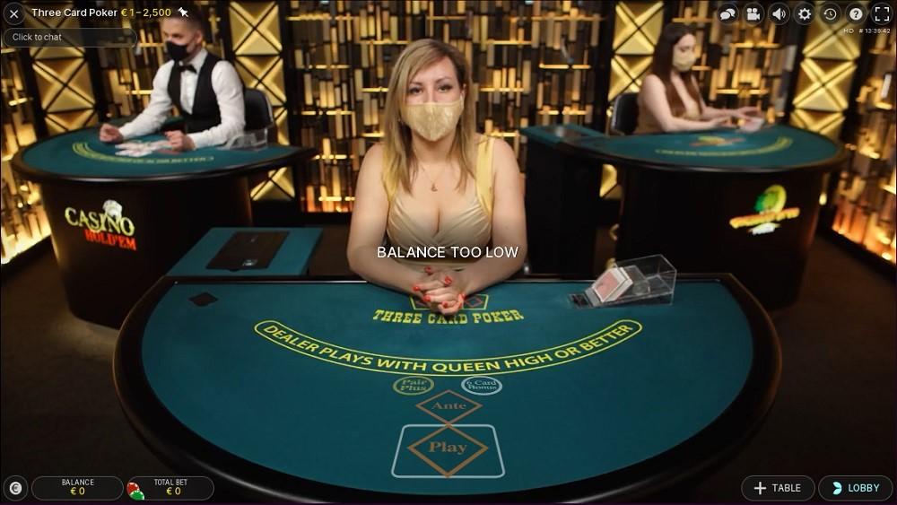 Malina Casino Live Poker