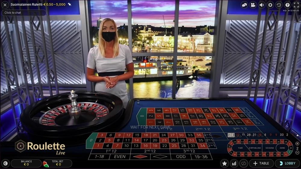 Malina Casino Live Roulette