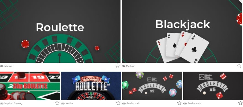 Monster Casino Automated Casino Table Games