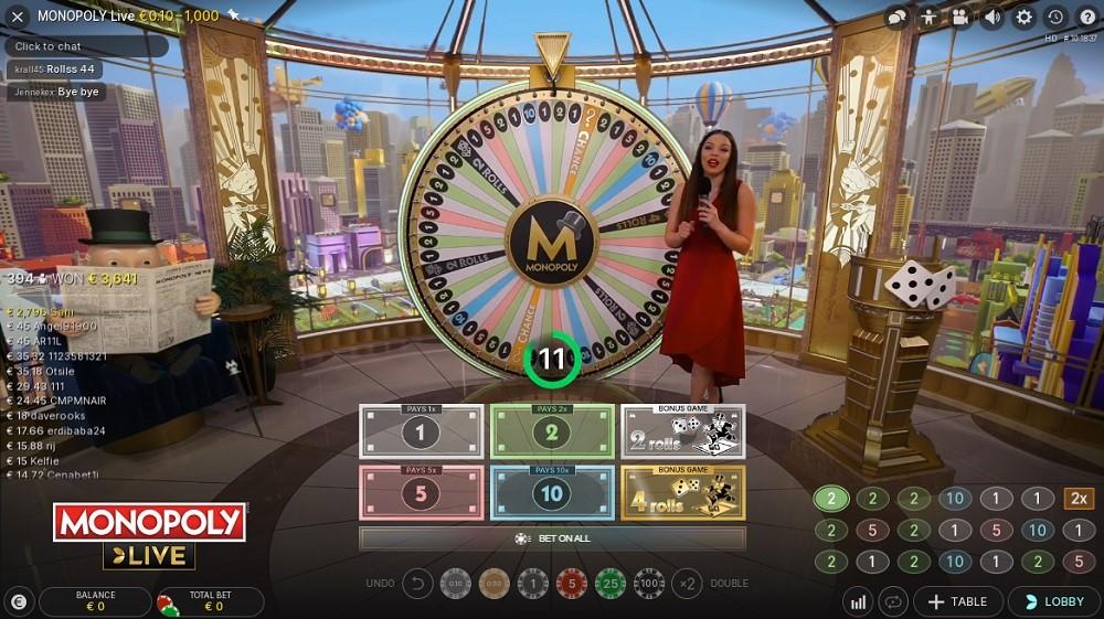 Monster Casino Live Game Show