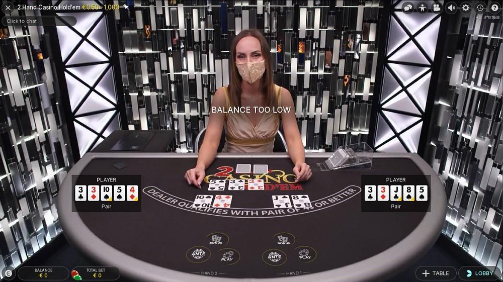 Monster Casino Live Poker