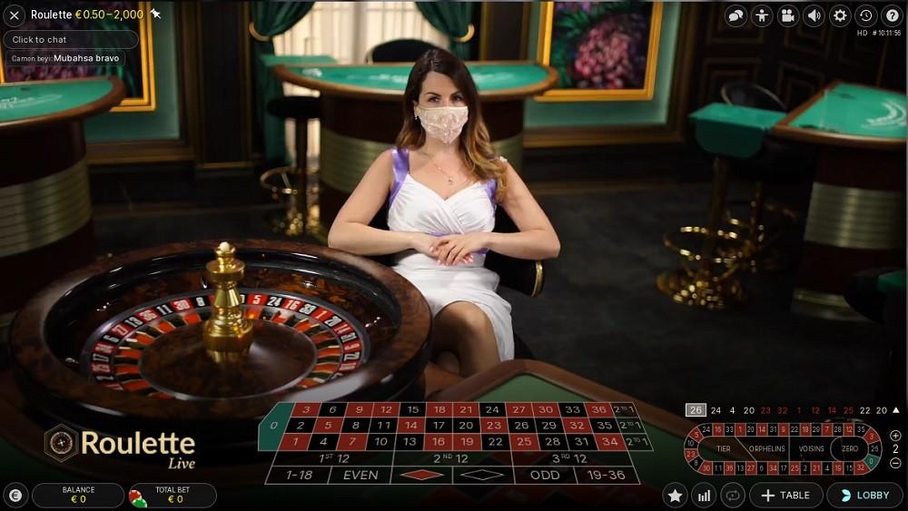 Monster Casino Live Roulette