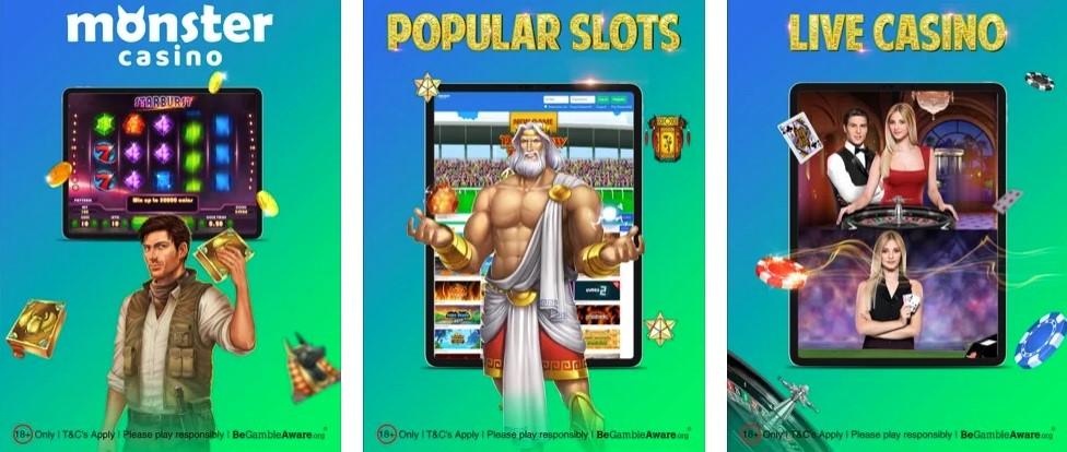 Monster Casino Rewards Program