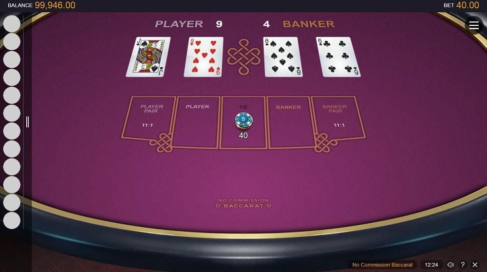Mummys Gold Casino Automated Baccarat