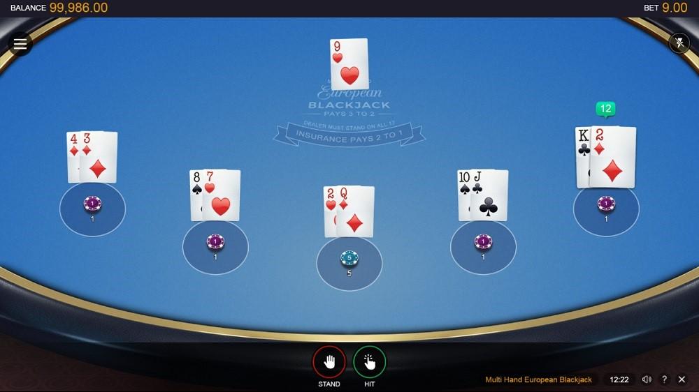 Mummys Gold Casino Automated Blackjack