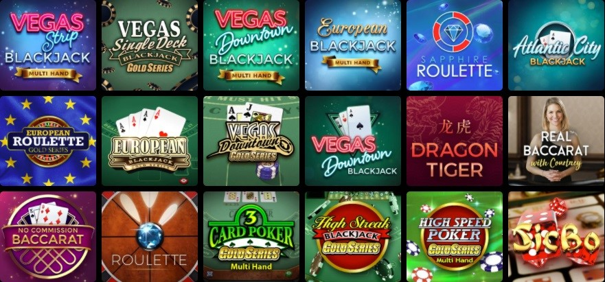 Mummys Gold Casino Automated Casino Table Games