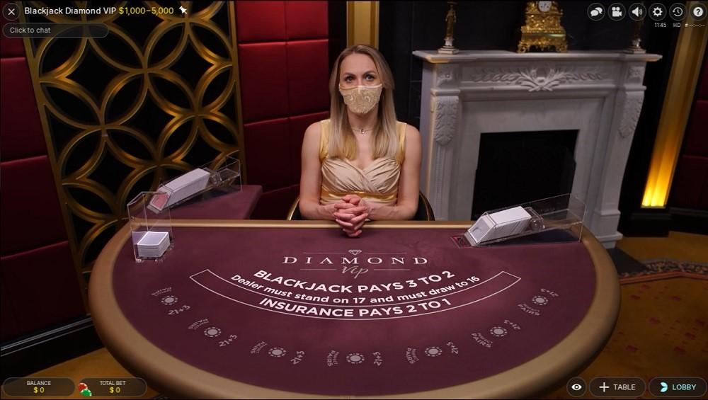 Mummys Gold Casino Live Blackjack