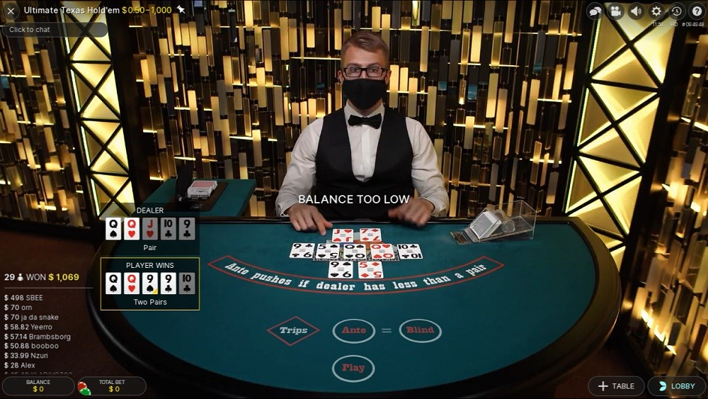 Mummys Gold Casino Live Poker