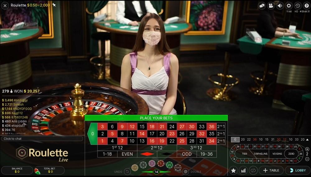 Mummys Gold Casino Live Roulette