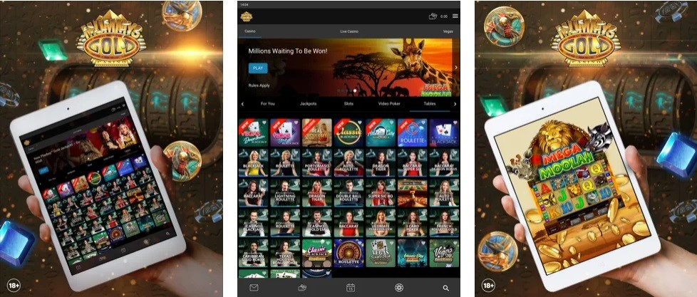Mummys Gold Casino Mobile Play