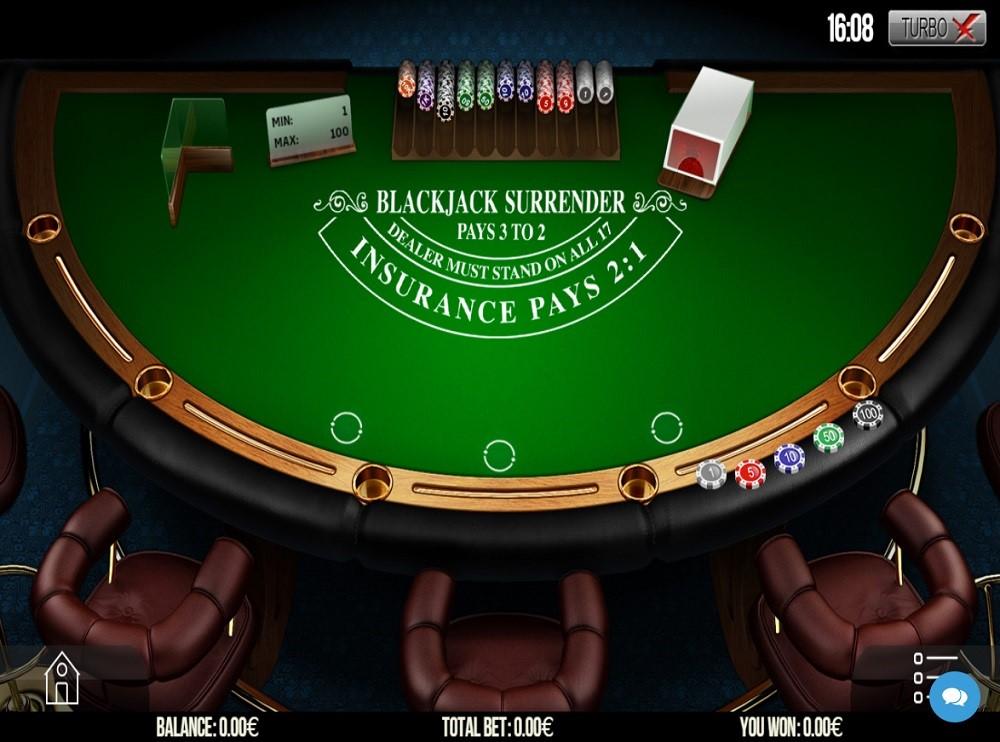 Nordicasino Automated Blackjack