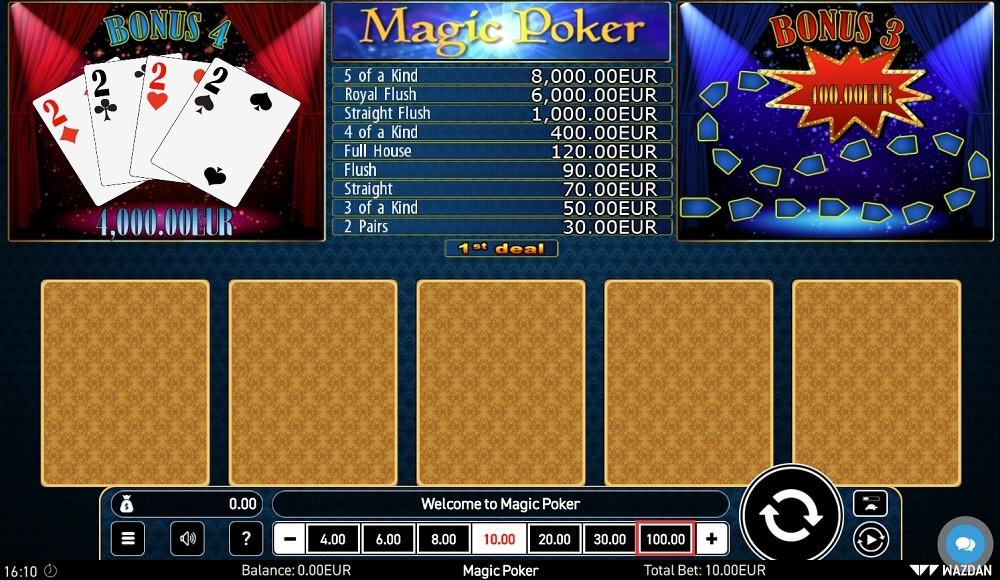 Nordicasino Automated Poker