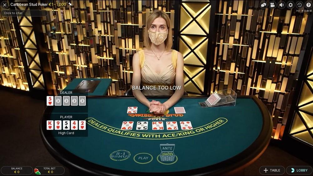Nordicasino Live Poker