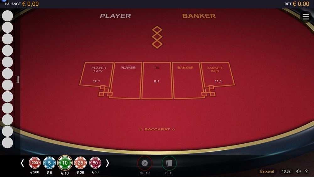 Regent Play Casino Automated Baccarat