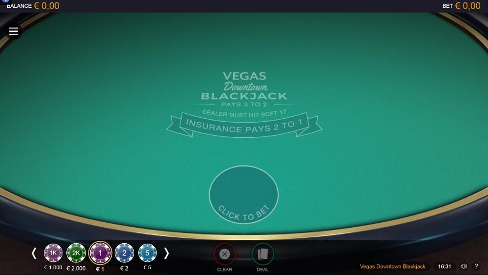 Regent Play Casino Automated Blackjack