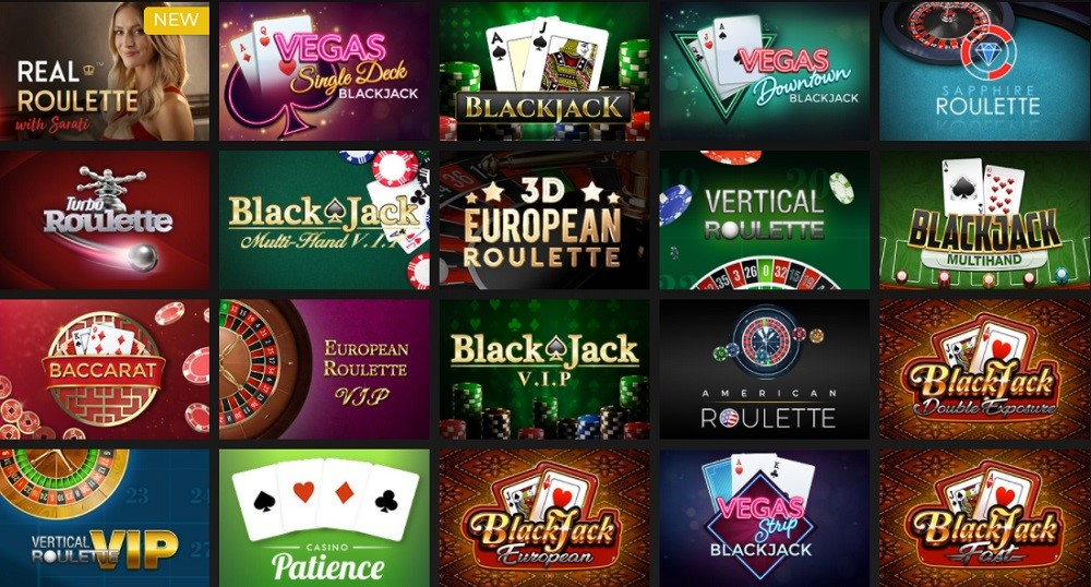 Regent Play Casino Automated Casino Table Games