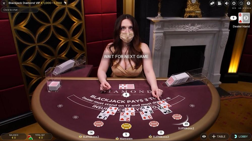 Regent Play Casino Live Blackjack