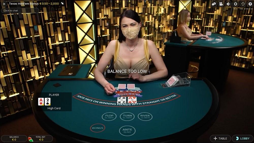 Regent Play Casino Live Poker