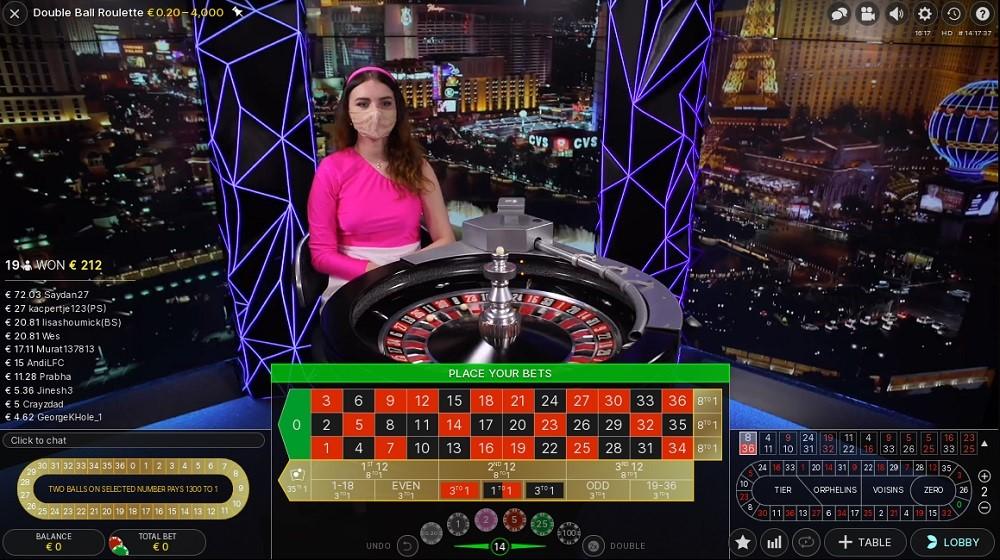 Regent Play Casino Live Roulette