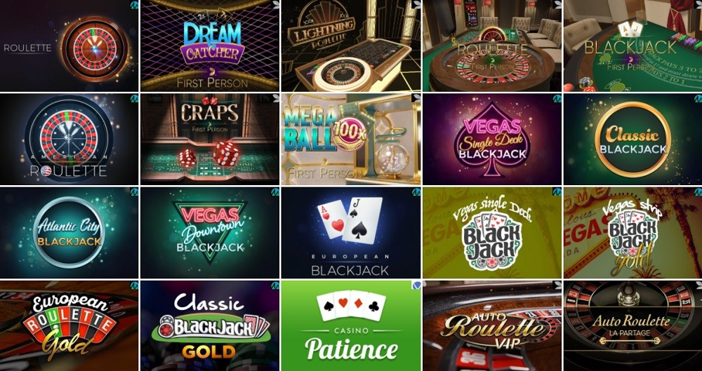 Spinit Casino Automated Casino Table Games