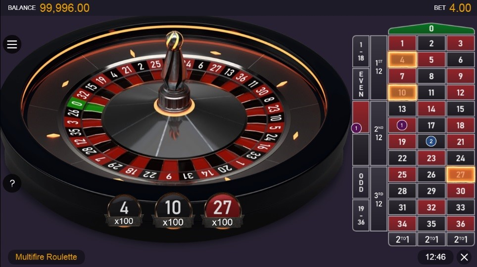 Spinit Casino Automated Roulette