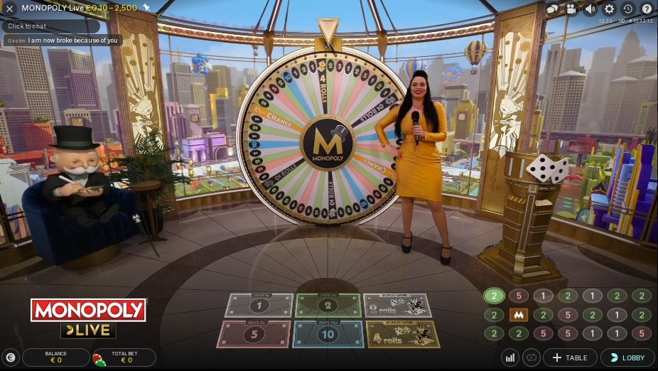 Spinit Casino Live Game Show