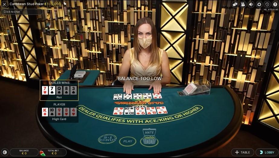 Spinit Casino Live Poker