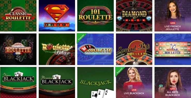 Sun Vegas Casino Automated Casino Table Games