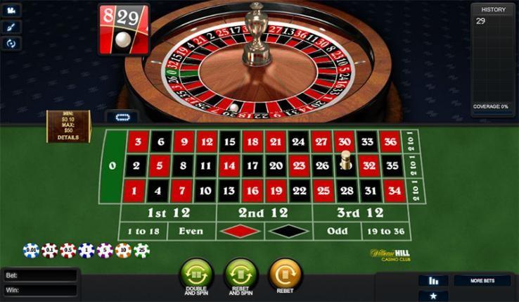 Sun Vegas Casino Automated Roulette