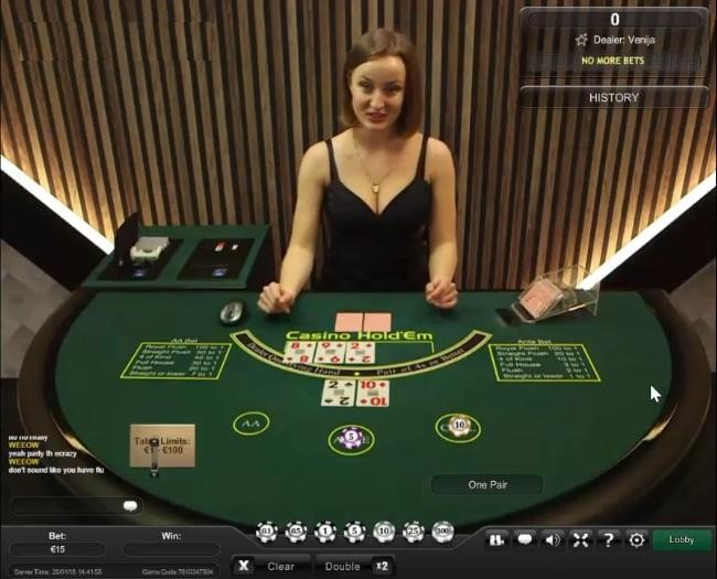Sun Vegas Casino Live Poker