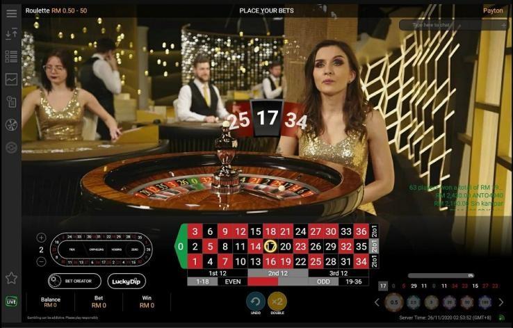 Sun Vegas Casino Live Roulette