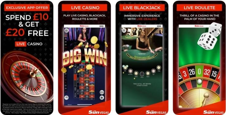 Sun Vegas Casino Mobile Play