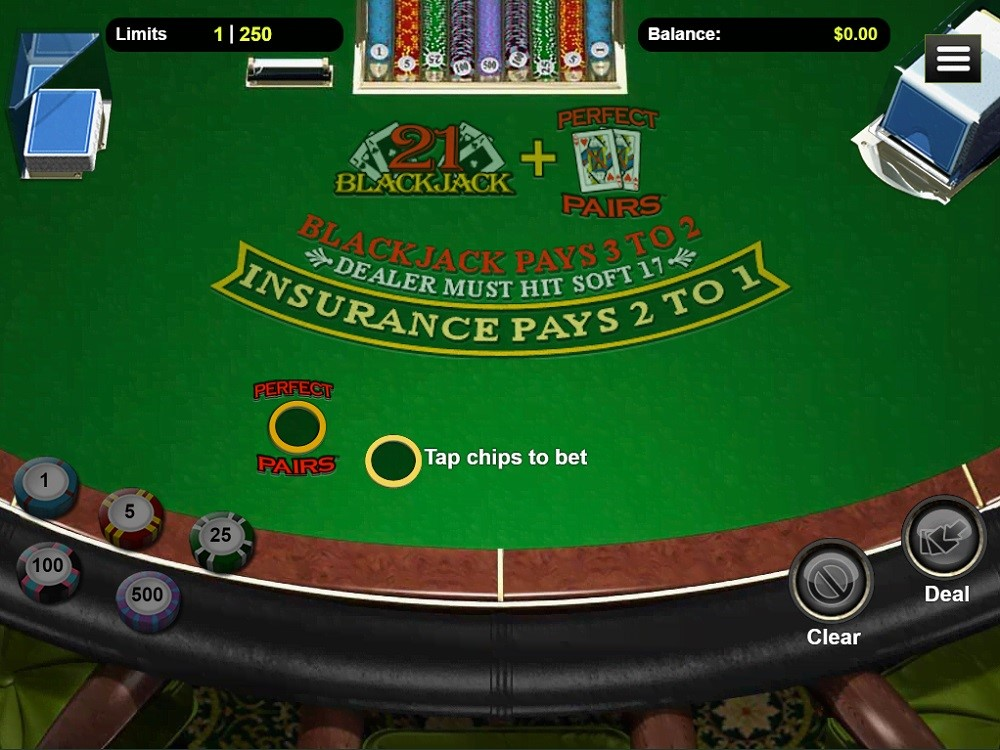 Two Up Casino Automated Blackjack