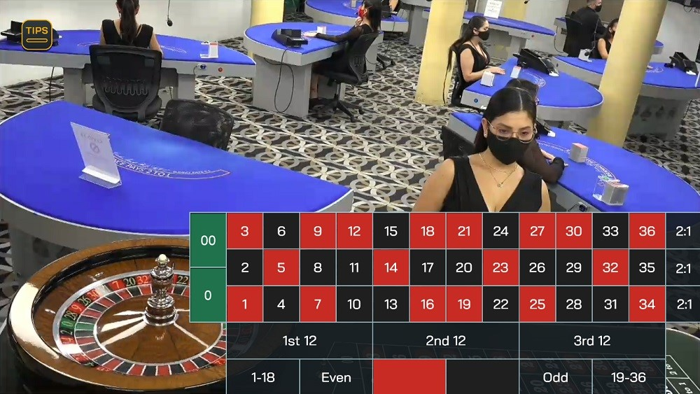 Two Up Casino Live Roulette