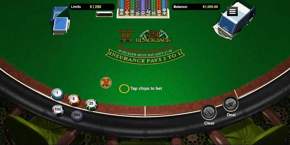Wild Vegas Automated Blackjack