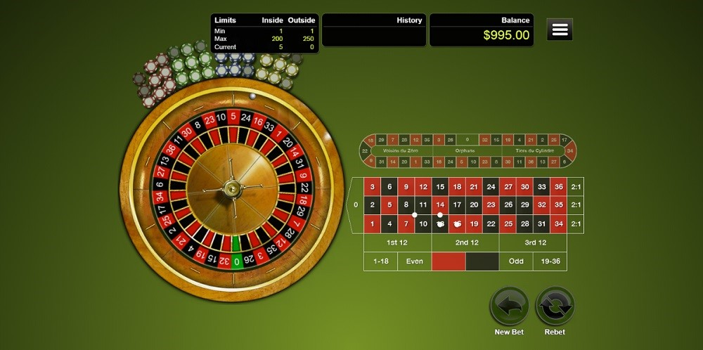 Wild Vegas Casino Automated Roulette